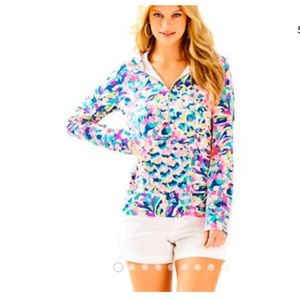 Lilly Pulitzer hooded popover